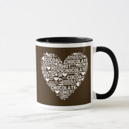 mugs tasses chocolat chaud personnalis es. Black Bedroom Furniture Sets. Home Design Ideas