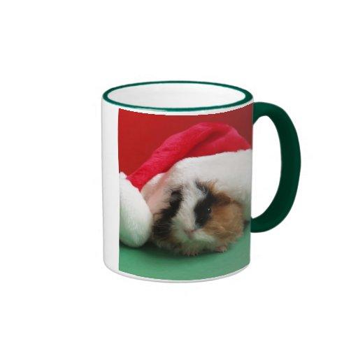 Tasse fraîche de cobaye de Noël