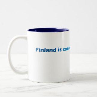 Tasse fraîche de la Finlande