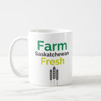 Tasse fraîche de Saskatchewan de ferme