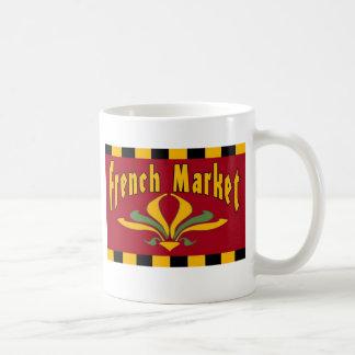 Tasse française du marché