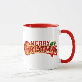 Tasse gaie de cadeau de Joyeux Noël