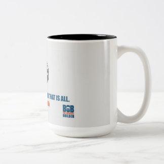 """Tasse - """"gardez le calme et…"""" par BTWSB"""