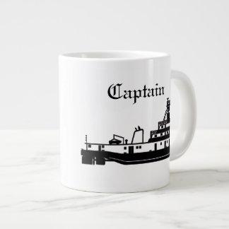 Tasse Géante Capitaine de Towboat