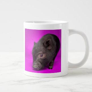 Tasse Géante Porc noir de bébé