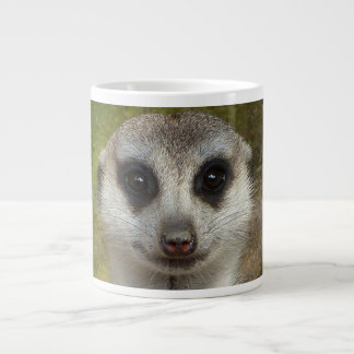 Tasse Géante Portait de Meerkat
