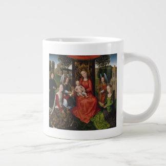Tasse Géante Vierge et enfant avec des saints Catherine de