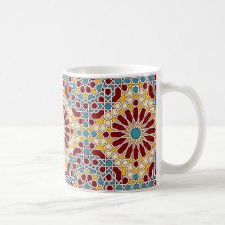 Tasse géométrique islamique de motif