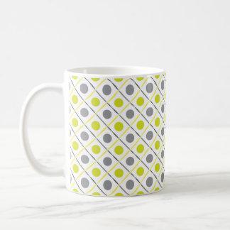 Tasse géométrique jaune