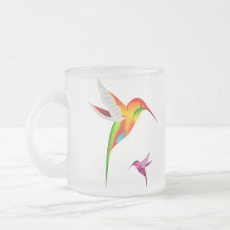 Tasse Givré Beaux colibris (Colibri)