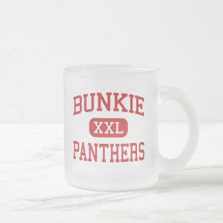 Tasse Givré Bunkie - panthères - lycée - Bunkie Louisiane