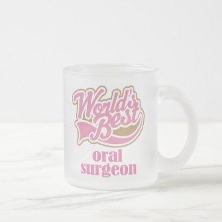 Tasse Givré Cadeau oral de rose de chirurgien