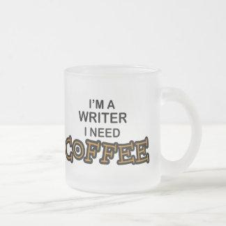 Tasse Givré Café du besoin - auteur