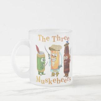 Tasse Givré Calembour drôle de bière de trois Muskebeers