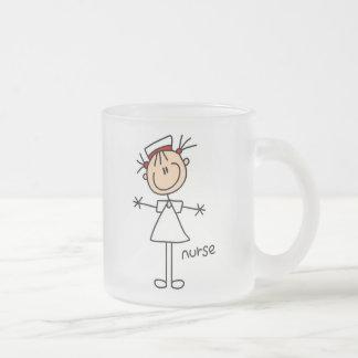 Tasse Givré Chiffre simple T-shirts et cadeaux de bâton