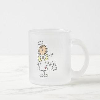 Tasse Givré Chiffre T-shirts et cadeaux de bâton d'ange