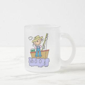 Tasse Givré Chiffre T-shirts et cadeaux de bâton de pêche de