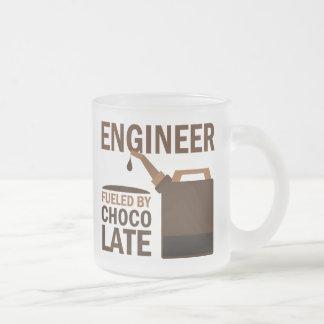Tasse Givré Chocolat (drôle) d'ingénieur