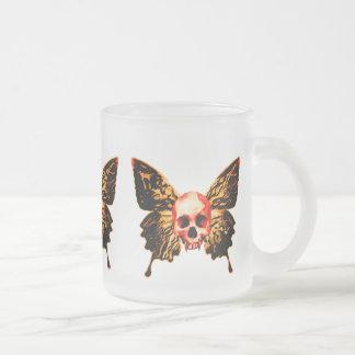 Tasse Givré Crâne de papillon
