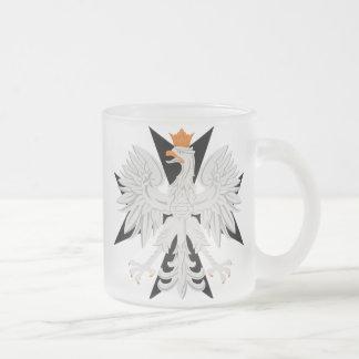 Tasse Givré Croix maltaise polonaise d'Eagle