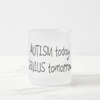 Tasse Givré D'autisme génie aujourd'hui demain