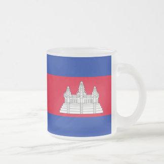 Tasse Givré Drapeau cambodgien