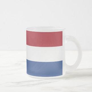 Tasse Givré Drapeau néerlandais