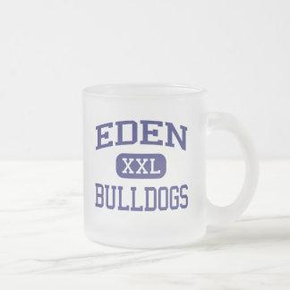 Tasse Givré Éden - bouledogues - lycée d'Éden - Éden le Texas