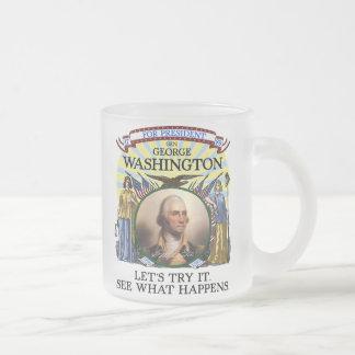 Tasse Givré Élection Stein de George Washington