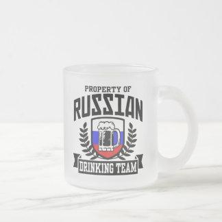 Tasse Givré Équipe potable russe