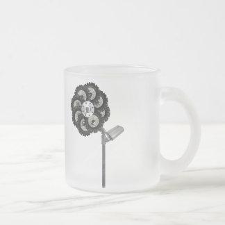 Tasse Givré Fleur industrielle