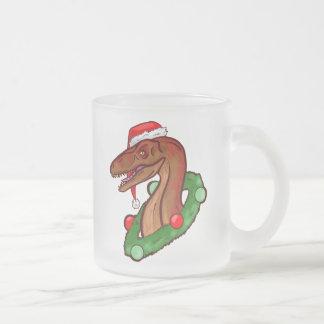 Tasse Givré Griffes et Veloci-Renne de Père Noël