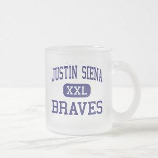 Tasse Givré Justin Sienne - brave - haute - Napa la Californie