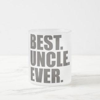 Tasse Givré Le meilleur. Oncle. Jamais