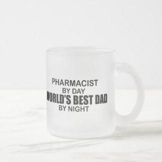 Tasse Givré Le meilleur papa du monde - pharmacien