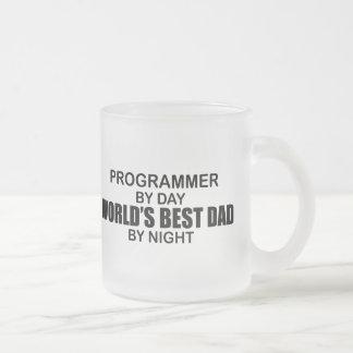 Tasse Givré Le meilleur papa du monde - programmeur