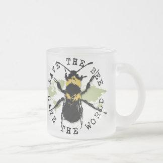 Tasse Givré Le yoga parlent : Sauvez les économies d'abeille…