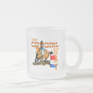 Tasse Givré Les cadeaux de manière de cow-girl