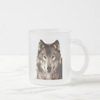Tasse Givré Loup gris