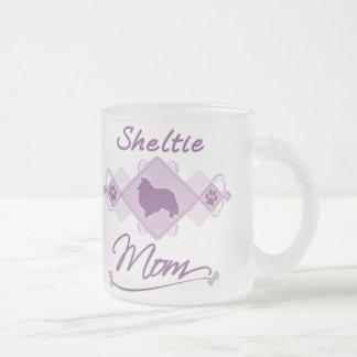 Tasse Givré Maman de Sheltie