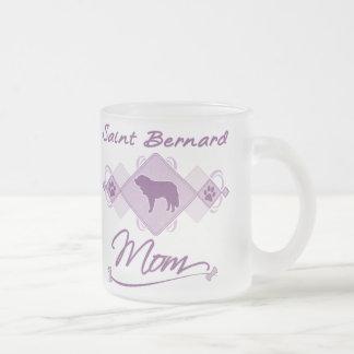 Tasse Givré Maman de St Bernard