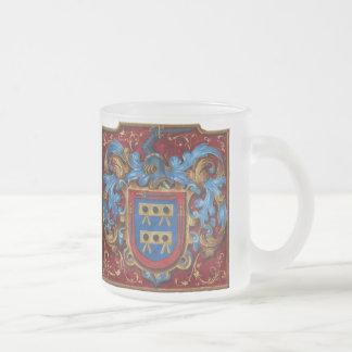 Tasse Givré Manteau des bras médiéval