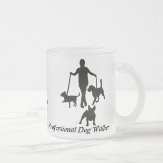 Tasse Givré Marcheur professionnel de chien