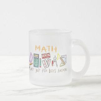 Tasse Givré Maths : Elles ne sont plus simplement pour des
