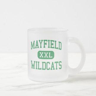 Tasse Givré Mayfield - chats sauvages - lycée - Cleveland Ohio
