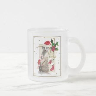 Tasse Givré Meerkat Père Noël