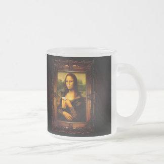 Tasse Givré Mona Lisa - bière de Mona Lisa - Lisa-bière drôle