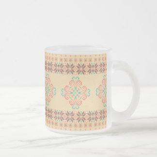 Tasse Givré Motif tricoté par Noël