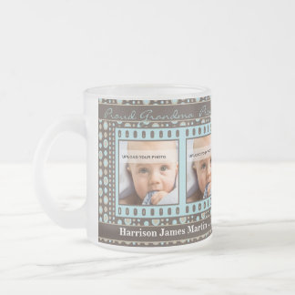 Tasse Givré OBSOLÈTE : Photo Brown de la grand-maman 4 et Aqua
