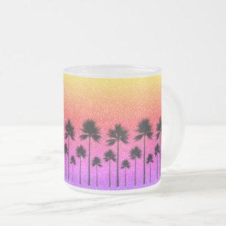 Tasse Givré Palmiers scintillants